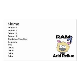 Reflujo del ácido de RAM Tarjetas De Visita