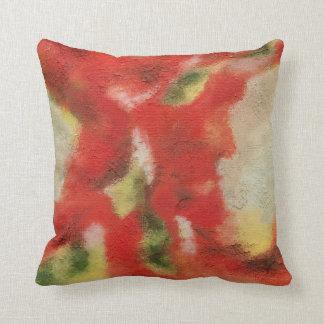 Reflujo y flujo de la decoración original del almohada