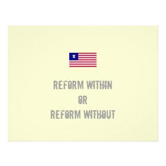 Reform Flyers