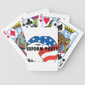 Reform Party Eagle 2 Bicycle Playing Cards