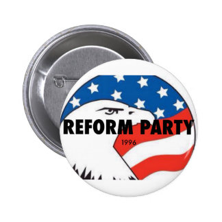 Reform Party Eagle 2 Pinback Button