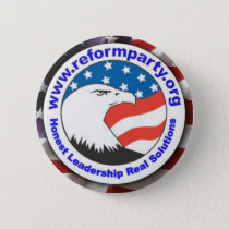 Reform Party Eagle 3 Button