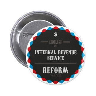 Reform The Tax Code Pinback Button