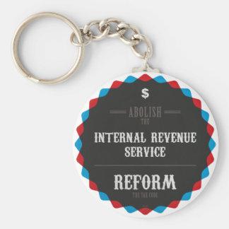 Reform The Tax Code Key Chain