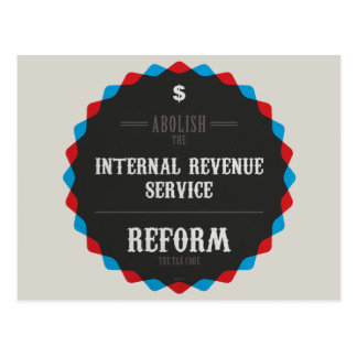 Reform The Tax Code Postcards