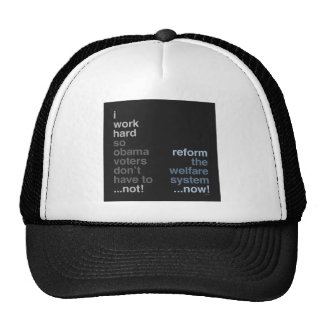 Reform The Welfare System Hats