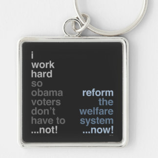 Reform The Welfare System Key Chains