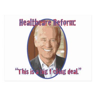 Reforma de la atención sanitaria postales