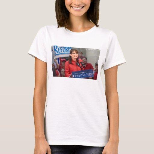 ¡Reforma de Sarah Palin! Camisa del ajuste de