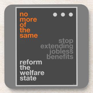 Reforma del bienestar posavasos