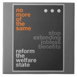 Reforma del bienestar tejas  cerámicas