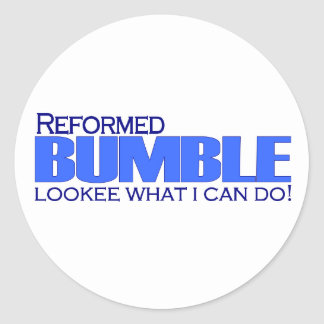Reformed Bumble Classic Round Sticker