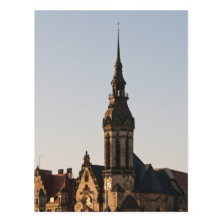 Reformed Church Leipzig, Germany Postcard