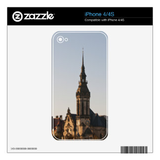 Reformed Church Leipzig, Germany Skins For iPhone 4