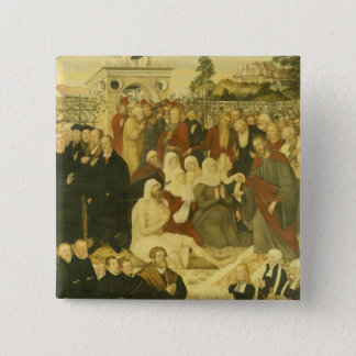 Reformers' group at a miracle button