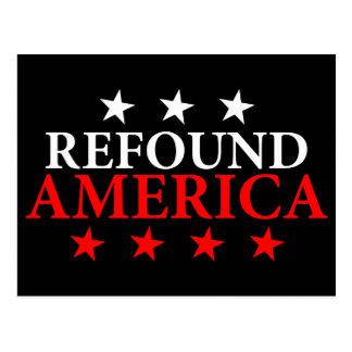 Refound America Postcard