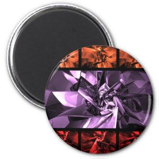 Refractals 2 Inch Round Magnet
