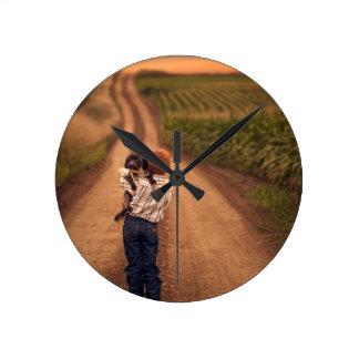 ReFramed - The Jake Olson Story Clock