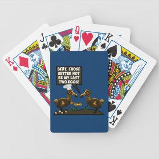 Refrán hilarante baraja de cartas