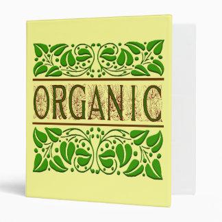 Refrán orgánico con la carpeta de las bellotas