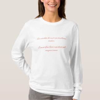 Refranes del amor - camiseta italiana