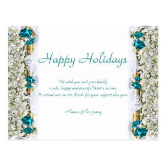 Refranes del navidad y gracias corporativas de postales