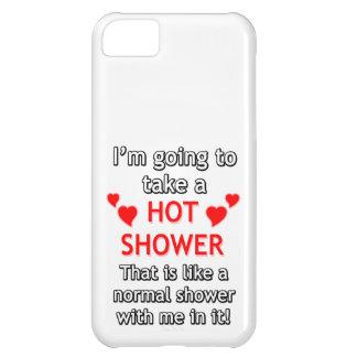 refranes divertidos - ducha caliente funda para iPhone 5C
