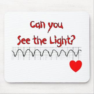 Refranes hilarantes de la enfermera cardiaca del E Alfombrilla De Ratones