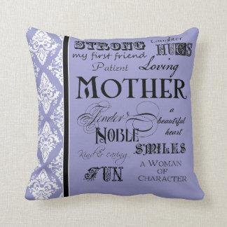 Refranes modernos del texto de la madre de la nube almohadas