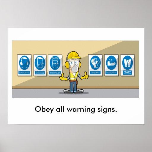 Refresco 003 de la salud general y de la seguridad posters