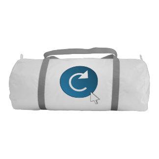 Refresh concept. gym bag