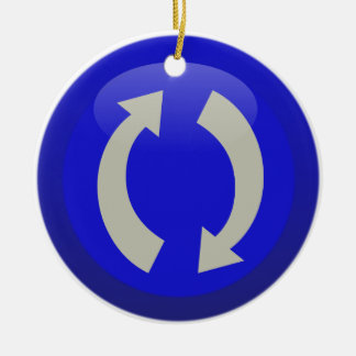 ReFresh Icon Ceramic Ornament
