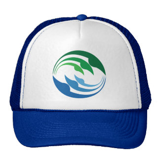 refresh our earth cap trucker hat