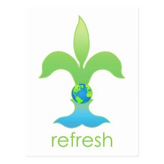 Refresh Postcard
