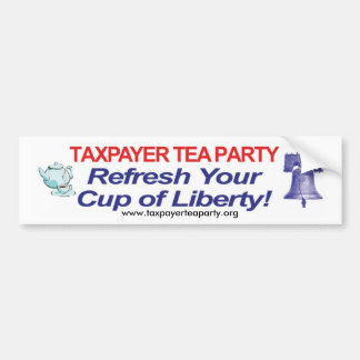 Refresh Your Cup of Liberty! bumper sticker