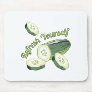 Refresh Yourself Mouse Pad