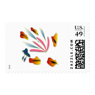 Refreshing and creative postage stamps