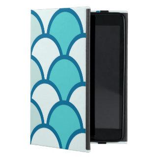 Refreshing Blue Water Wave Pattern iPad Mini Covers