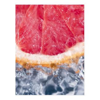 Refreshing Grapefruit Postcard