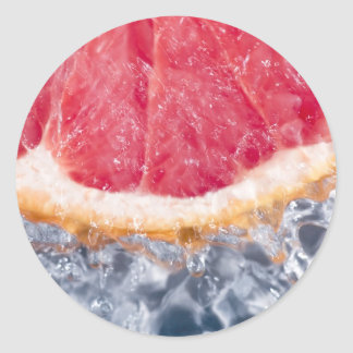 Refreshing Grapefruit Sticker