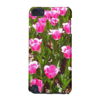Refreshing Pink Tulip Garden iPod Touch (5th Generation) Case