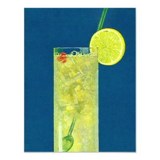 REFRESHING TALL & ICY COCKTAIL BEVERAGE INVITATION