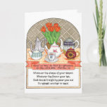 "Refreshing Teapots Birthday Card<br><div class=""desc"">This charming card reminds you that we can all be used for God's purposes.</div>"