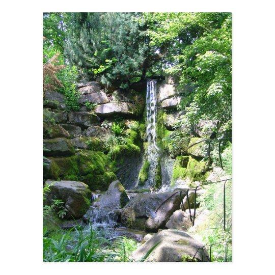 Refreshing Waterfall Postcard