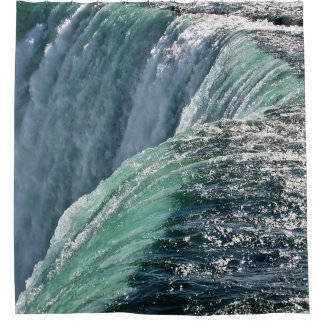 Refreshing Waterfall Shower Curtain
