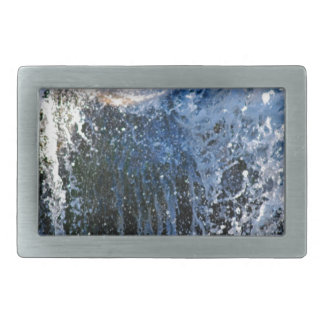 Refreshingly different waterfall belt buckle