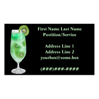Refreshments Bar Business Cards