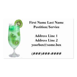 Refreshments Bar Business Card Templates