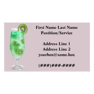 Refreshments Bar Business Card