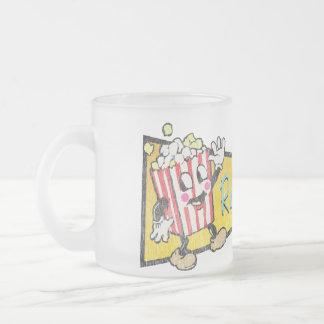 Refreshments Retro Popcorn Man Coffee Mug
